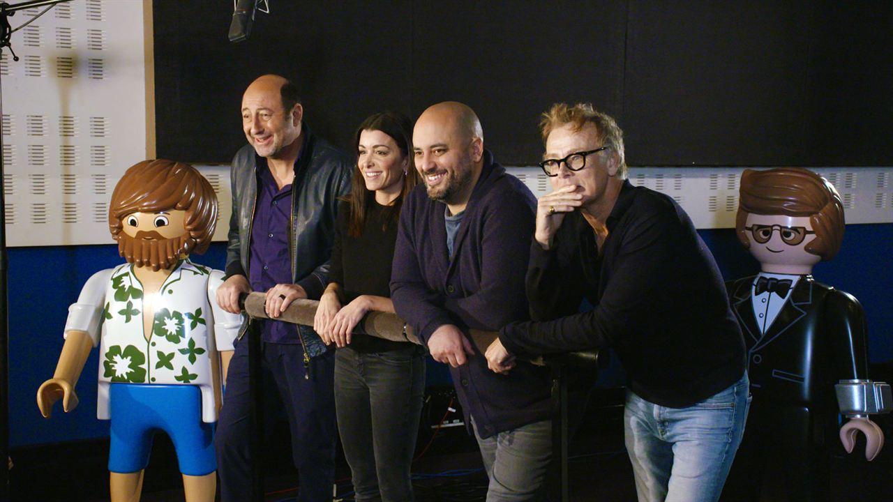 Playmobil: La película : Couverture magazine Franck Dubosc, Jenifer Bartoli, Jérôme Commandeur, Kad Merad