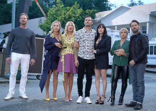 Foto Brian Austin Green, Gabrielle Carteris, Ian Ziering, Jason Priestley, Jennie Garth