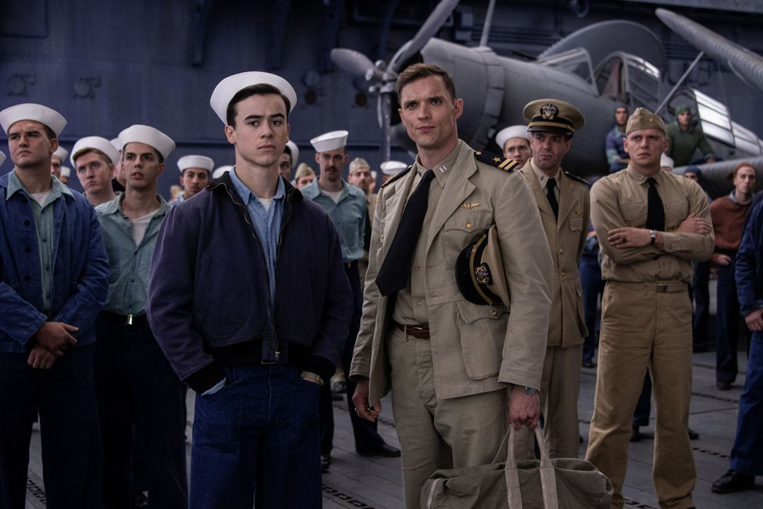 Midway : Foto Ed Skrein, Keean Johnson