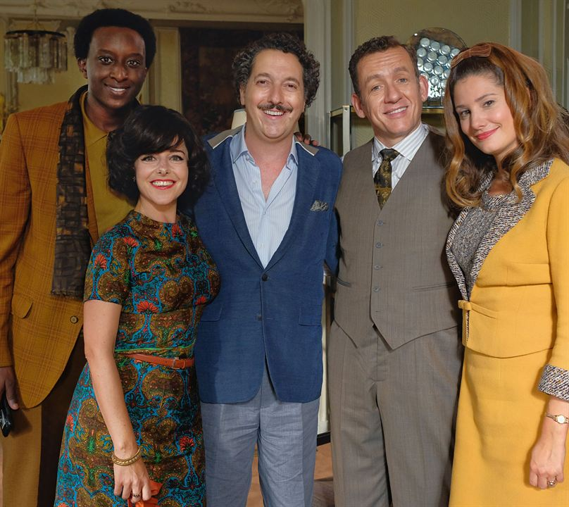 Foto Ahmed Sylla, Alice Pol, Dany Boon, Guillaume Gallienne, Laure Calamy