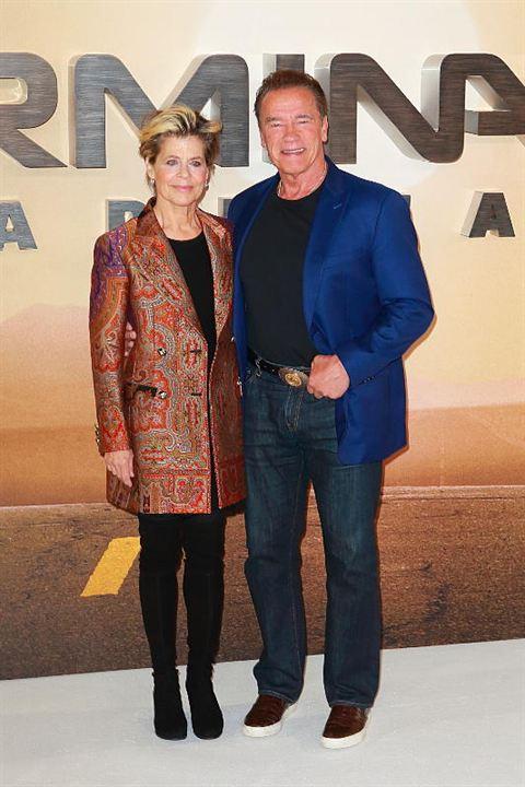 Terminator: Destino oscuro: Arnold Schwarzenegger, Linda Hamilton