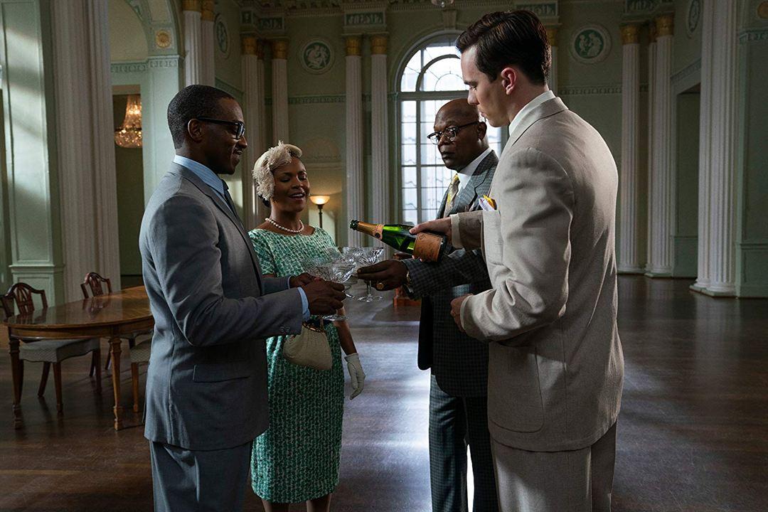 The Banker : Foto Anthony Mackie, Nia Long, Nicholas Hoult, Samuel L. Jackson