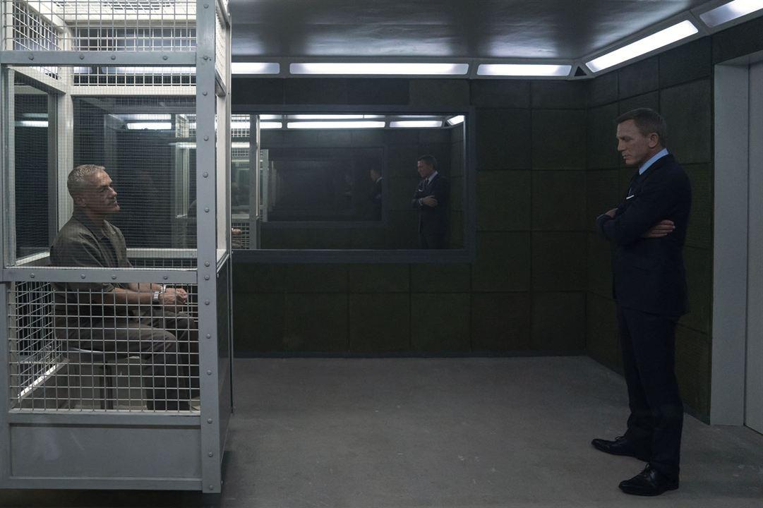 Sin tiempo para morir: Christoph Waltz, Daniel Craig