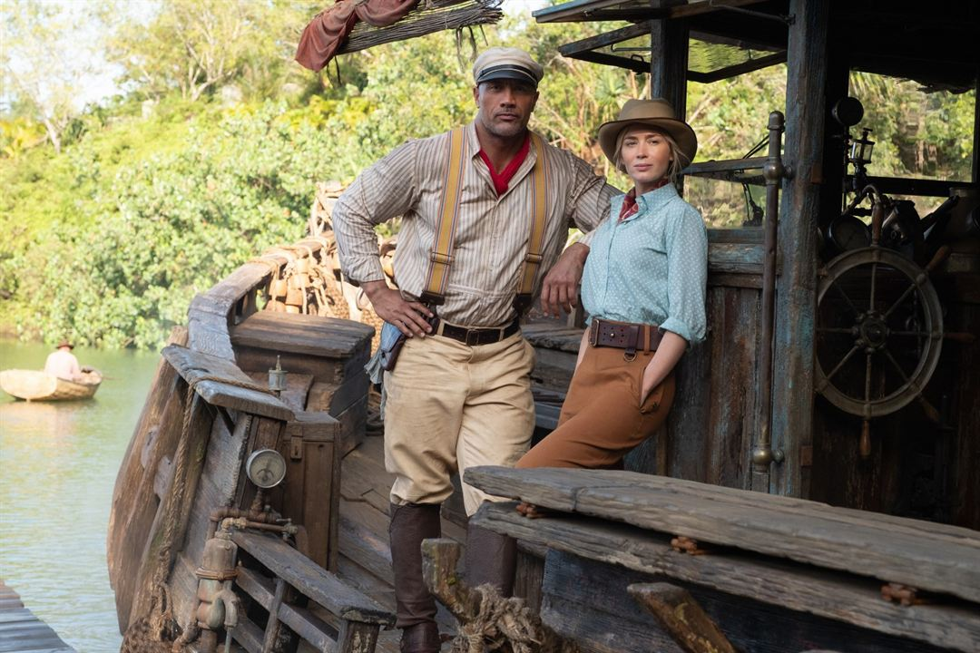 Jungle Cruise: Dwayne Johnson, Emily Blunt
