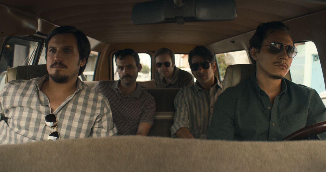 Foto Alberto Zeni, Alex Knight (II), Jero Medina, Matt Biedel, Miguel Rodarte