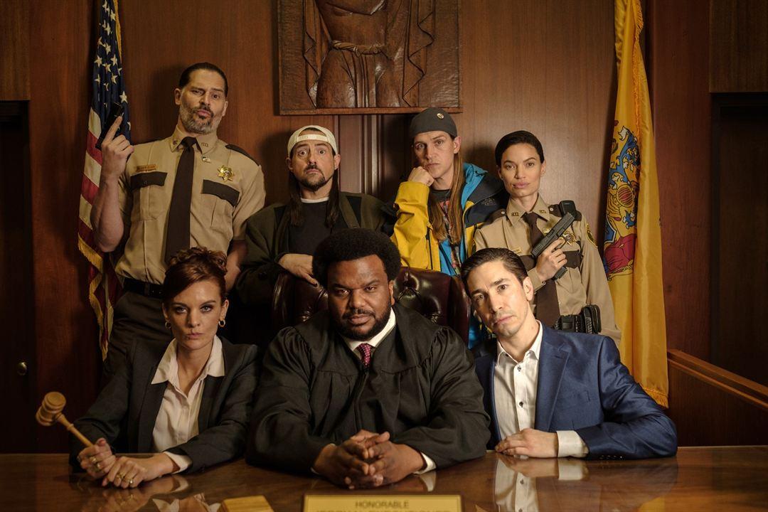 Jay and Silent Bob Reboot : Foto Craig Robinson, Frankie Shaw, Jason Mewes, Joe Manganiello, Justin Long