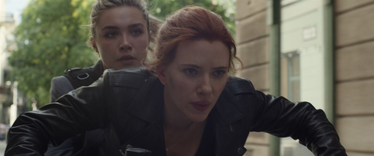 Viuda Negra: Scarlett Johansson, Florence Pugh