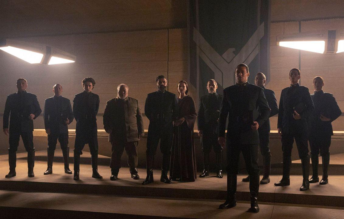 Dune : Foto Jason Momoa, Josh Brolin, Oscar Isaac, Rebecca Ferguson, Stephen McKinley Henderson