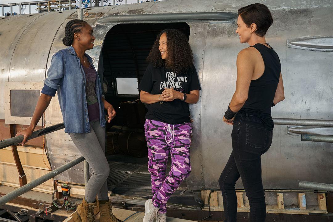 La vieja guardia : Foto Charlize Theron, Gina Prince-Bythewood, KiKi Layne