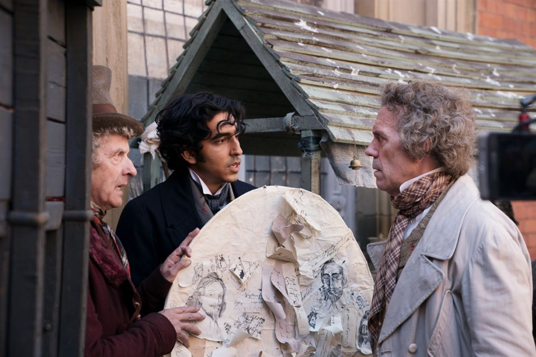 La increíble historia de David Copperfield: Hugh Laurie, Dev Patel, Peter Capaldi