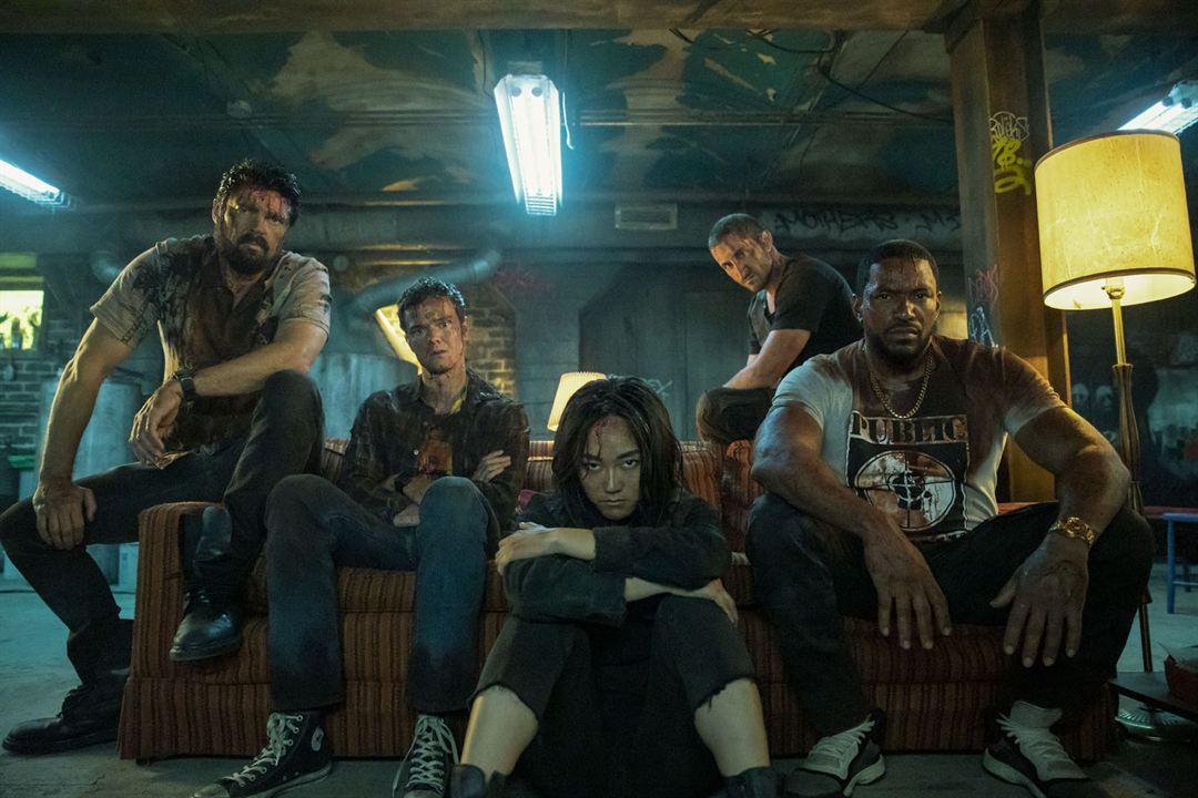 Foto Jack Quaid, Karen Fukuhara, Karl Urban, Laz Alonso, Tomer Capon