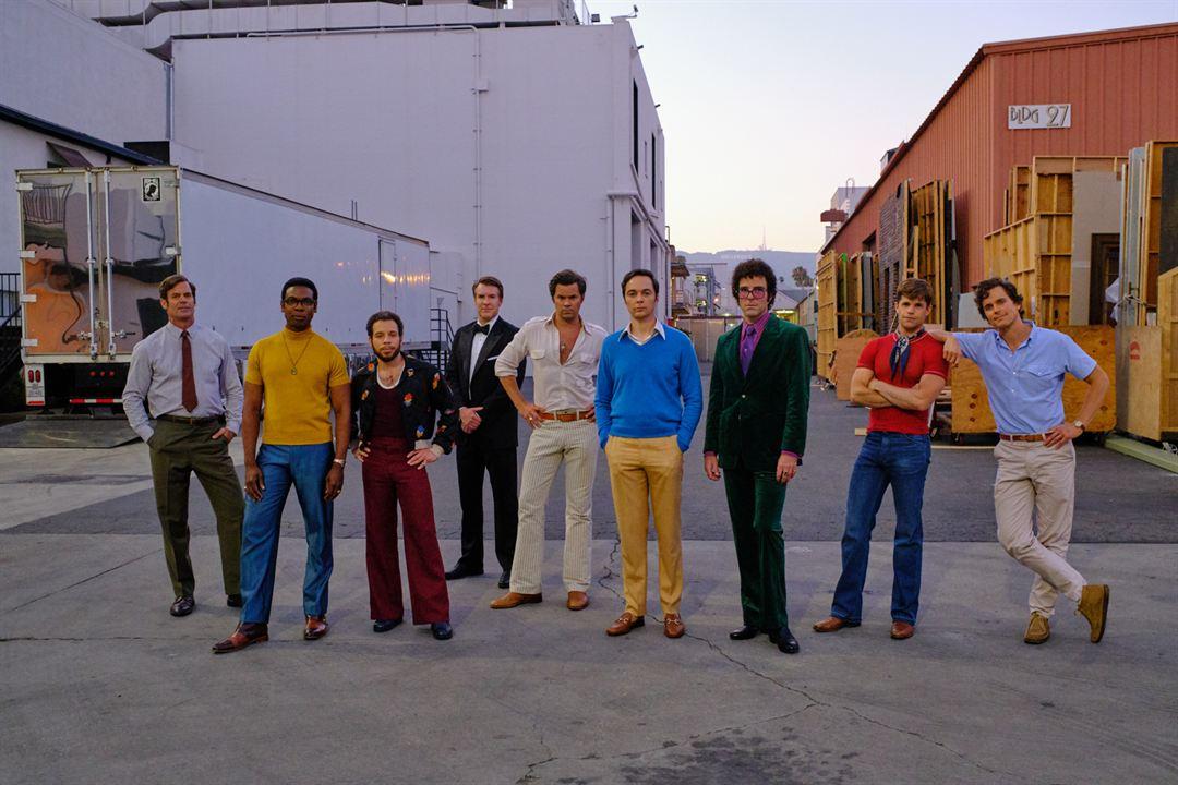 Los chicos de la banda : Foto Andrew Rannells, Brian Hutchison, Charlie Carver, Jim Parsons, Matt Bomer
