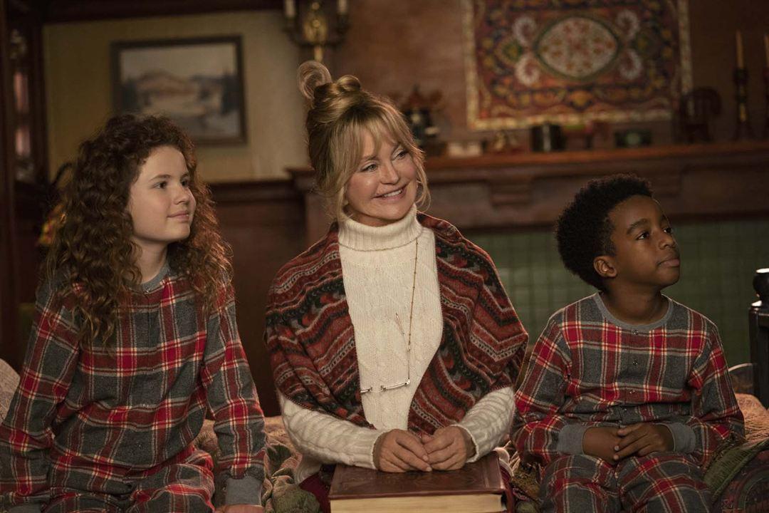 Crónicas de Navidad 2 : Foto Darby Camp, Goldie Hawn, Jahzir Bruno