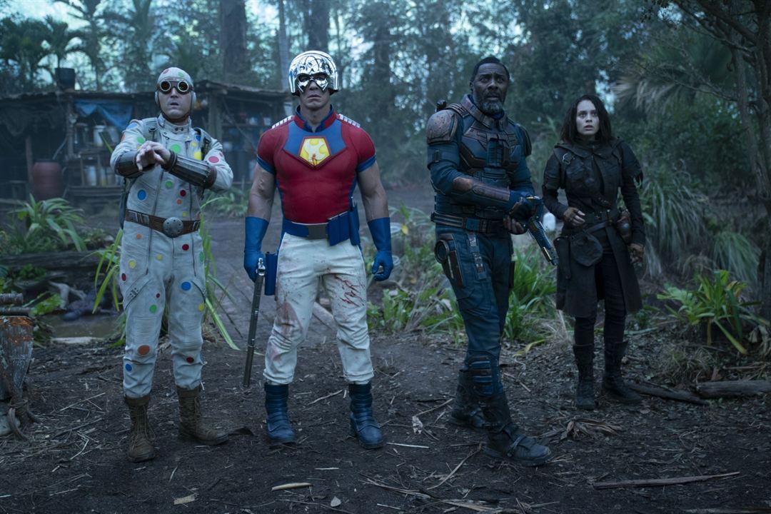El Escuadrón Suicida : Foto Daniela Melchior, David Dastmalchian, Idris Elba, John Cena