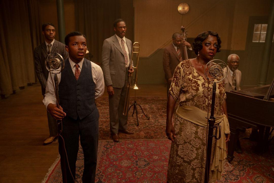 La madre del blues : Foto Chadwick Boseman, Colman Domingo, Dusan Brown, Glynn Turman, Michael Potts