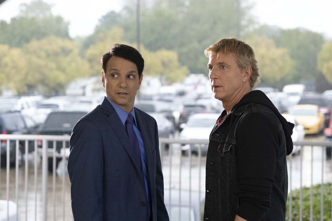 Foto Ralph Macchio, William Zabka