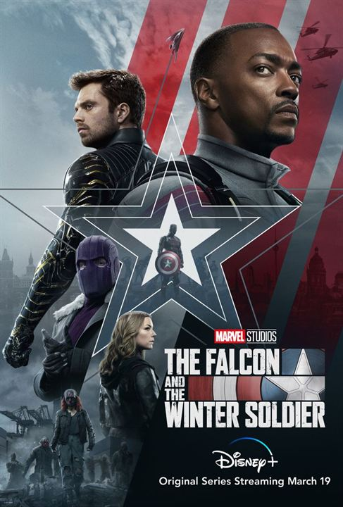 Falcon y el Soldado de Invierno : Cartel