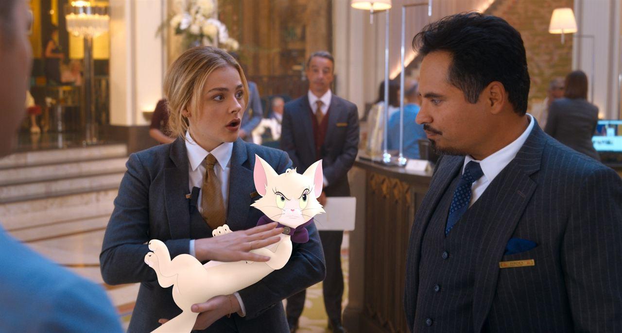 Tom y Jerry: Chloë Grace Moretz, Michael Peña
