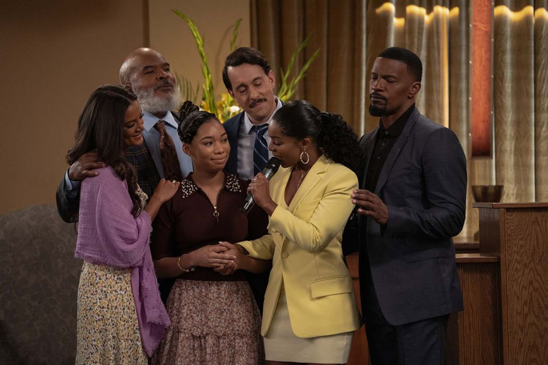 Foto David Alan Grier, Heather Hemmens, Jamie Foxx, Jonathan Kite, Kyla-Drew