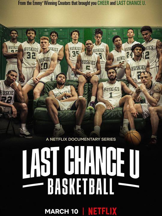 Last Chance U: Baloncesto : Cartel