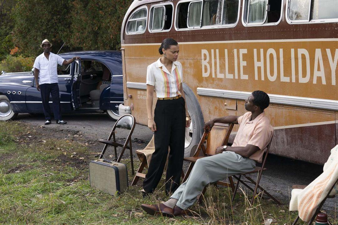 Los Estados Unidos contra Billie Holiday: Trevante Rhodes, Andra Day