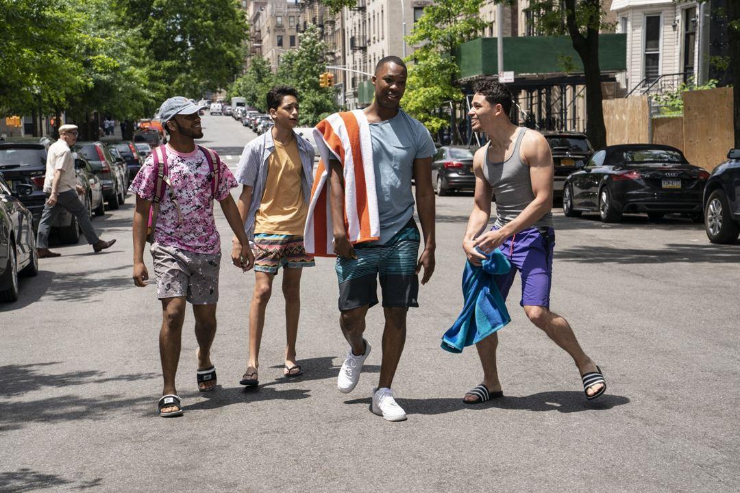 En un barrio de Nueva York : Foto Anthony Ramos, Corey Hawkins, Gregory Diaz IV
