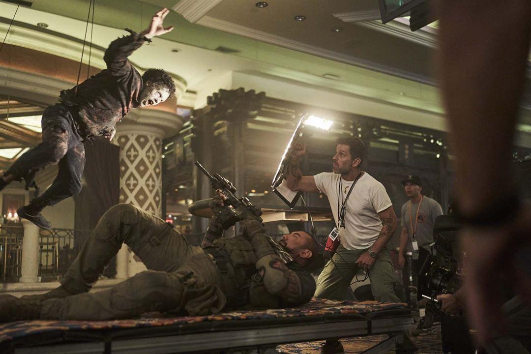 Ejército de los muertos : Foto Dave Bautista, Zack Snyder