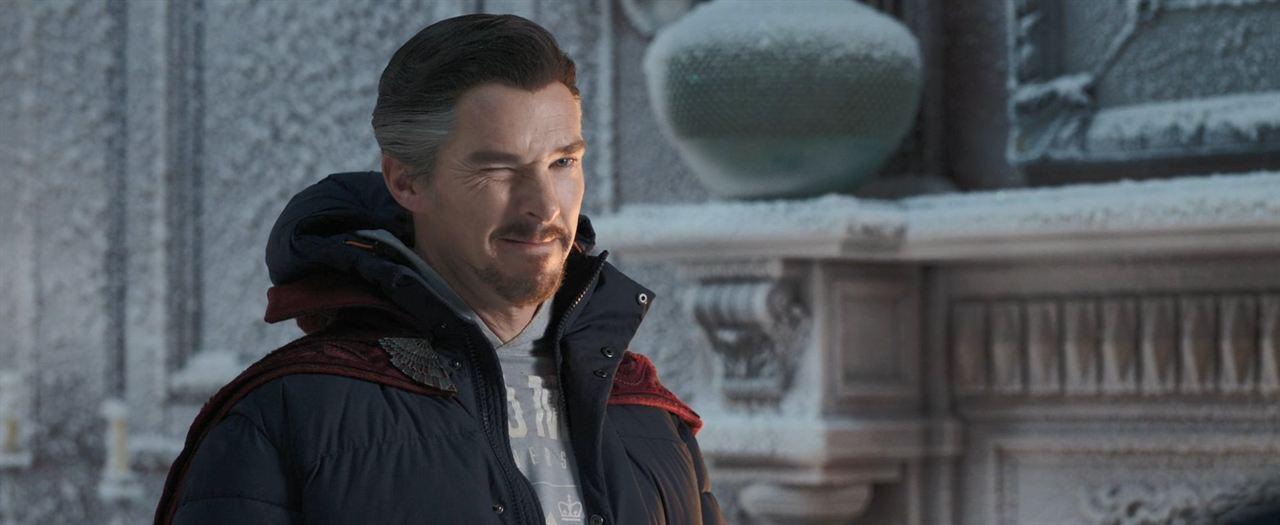 Spider-Man: No Way Home: Benedict Cumberbatch