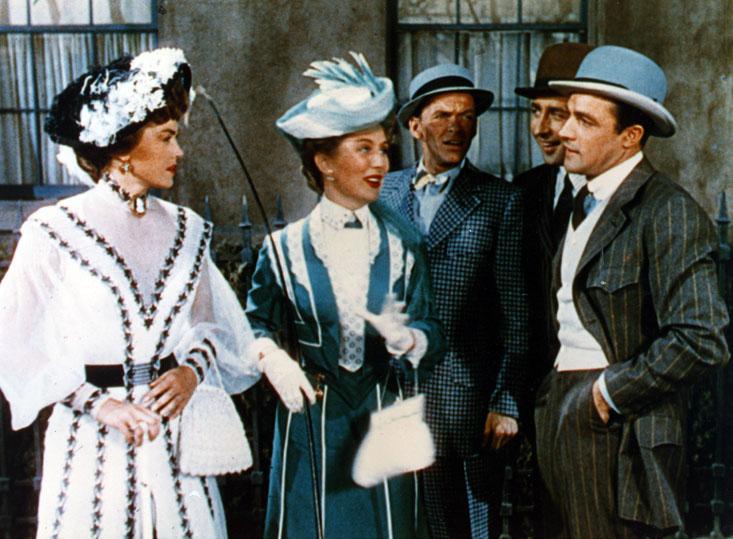 Llévame a ver el partido : Foto Esther Williams, Frank Sinatra, Gene Kelly