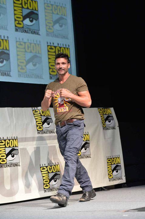 Capitán América: El soldado de invierno : Couverture magazine Frank Grillo
