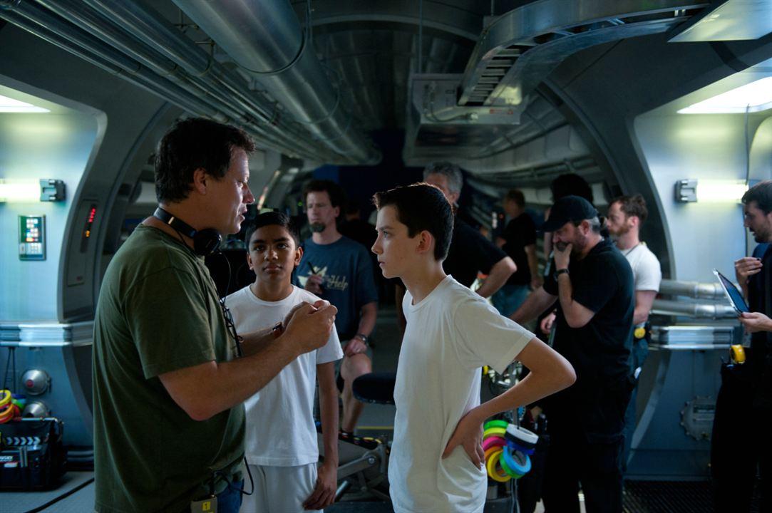El juego de Ender : Foto Asa Butterfield, Gavin Hood