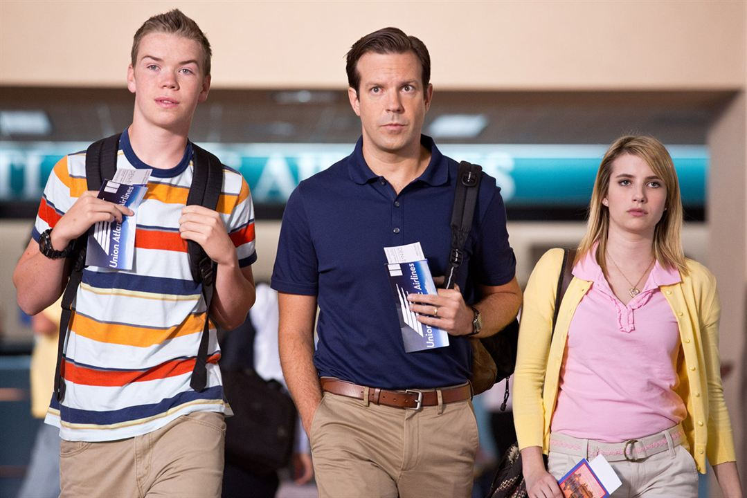 Somos los Miller: Emma Roberts, Jason Sudeikis, Will Poulter