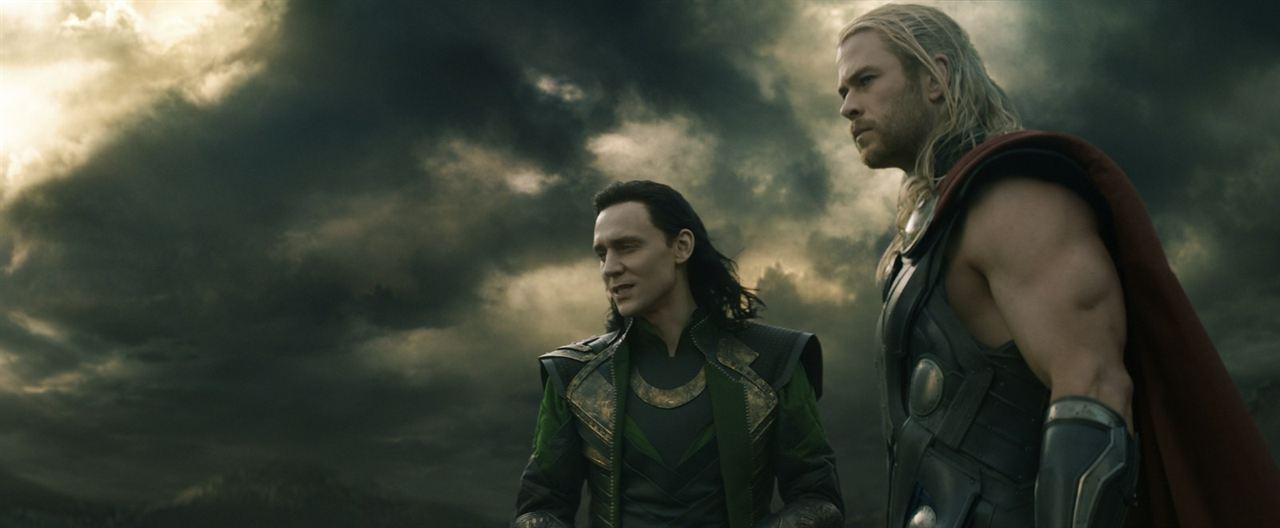 Thor: El mundo oscuro : Foto Chris Hemsworth, Tom Hiddleston