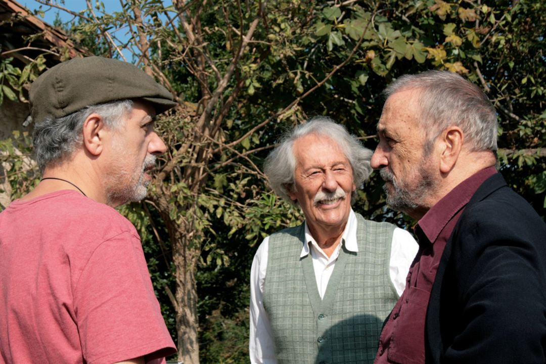 El artista y la modelo: Fernando Trueba, Jean Rochefort, Jean-Claude Carrière