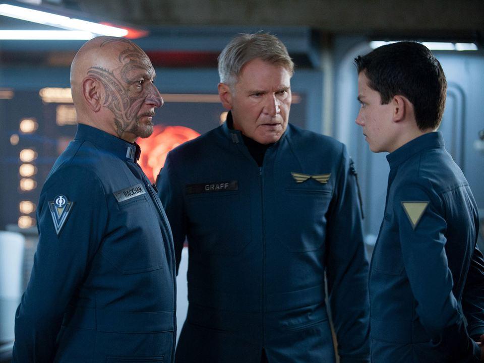El juego de Ender : Foto Asa Butterfield, Ben Kingsley, Harrison Ford