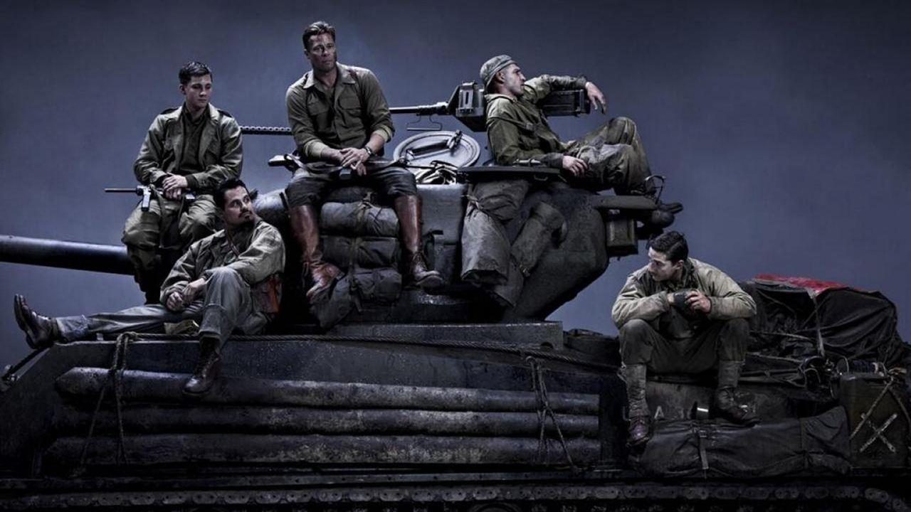 Corazones de acero : Foto Brad Pitt, Jon Bernthal, Logan Lerman, Michael Peña, Shia LaBeouf