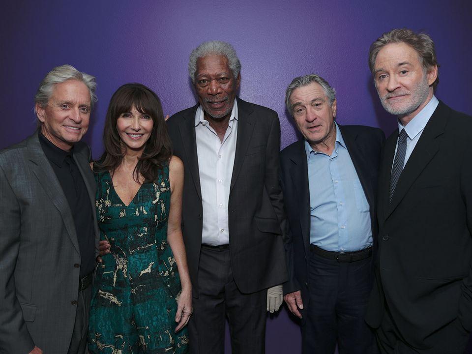 Plan en Las Vegas: Morgan Freeman, Mary Steenburgen, Michael Douglas, Kevin Kline, Robert De Niro