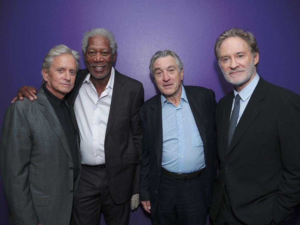 Plan en Las Vegas: Morgan Freeman, Michael Douglas, Kevin Kline, Robert De Niro