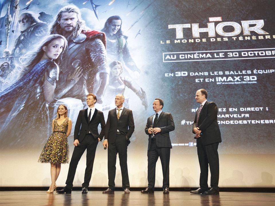 Thor: El mundo oscuro : Couverture magazine Kevin Feige, Natalie Portman, Tom Hiddleston