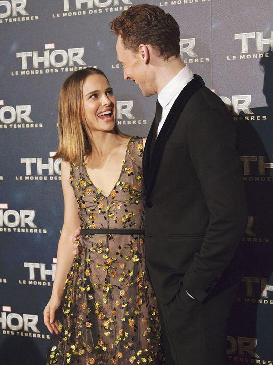 Thor: El mundo oscuro : Couverture magazine Natalie Portman, Tom Hiddleston