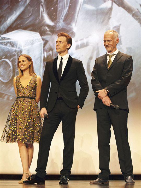 Thor: El mundo oscuro : Couverture magazine Alan Taylor, Natalie Portman, Tom Hiddleston