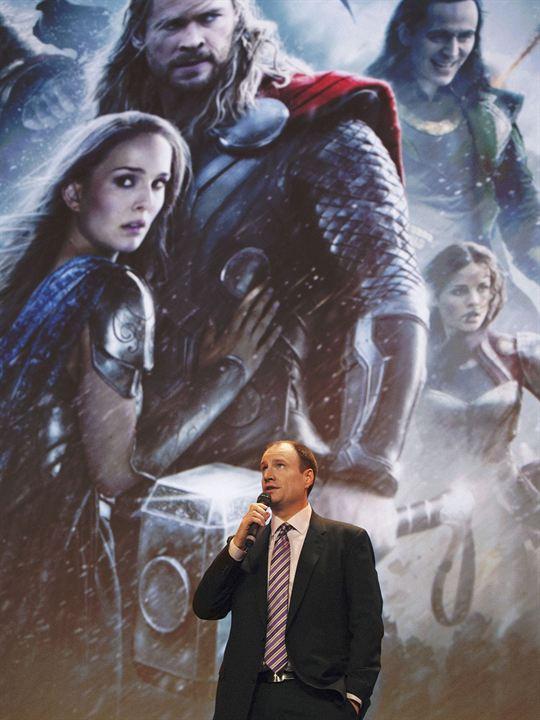 Thor: El mundo oscuro : Couverture magazine Kevin Feige, Tom Hiddleston