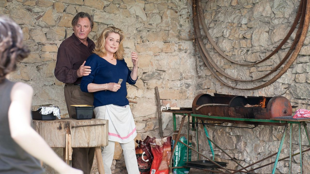El viaje de Bettie: Catherine Deneuve, Gérard Garouste