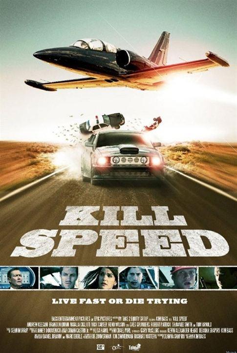 Speed asesino (Velocidad mortal) : Cartel Brandon Quinn, Christian Monzon, Nick Carter, Reno Wilson
