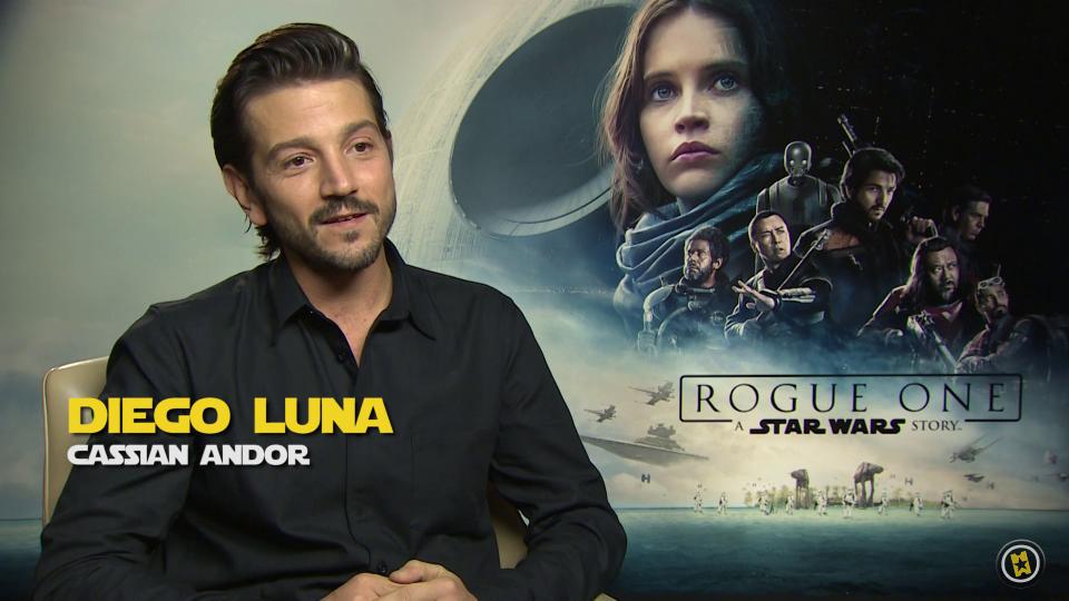 Gareth Edwards y el reparto de 'Rogue One: Una historia de Star Wars'